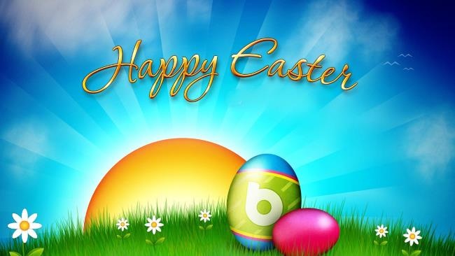 Happy Easter 2021, Time And Date With Calendar