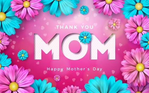 Note Of Thank You For Mother's Day Wishes 2021 With Messages